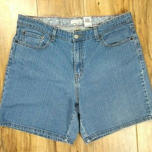 Levis 550 Classic Relaxed Jean Shorts Womens Sz 20